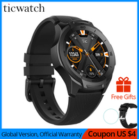 Ticwatch S2 Smart Watch Android Wear Bluetooth GPS Watch Waterproof 5 ATM 24hr Heart rate Monitor Proactive Running Tracking