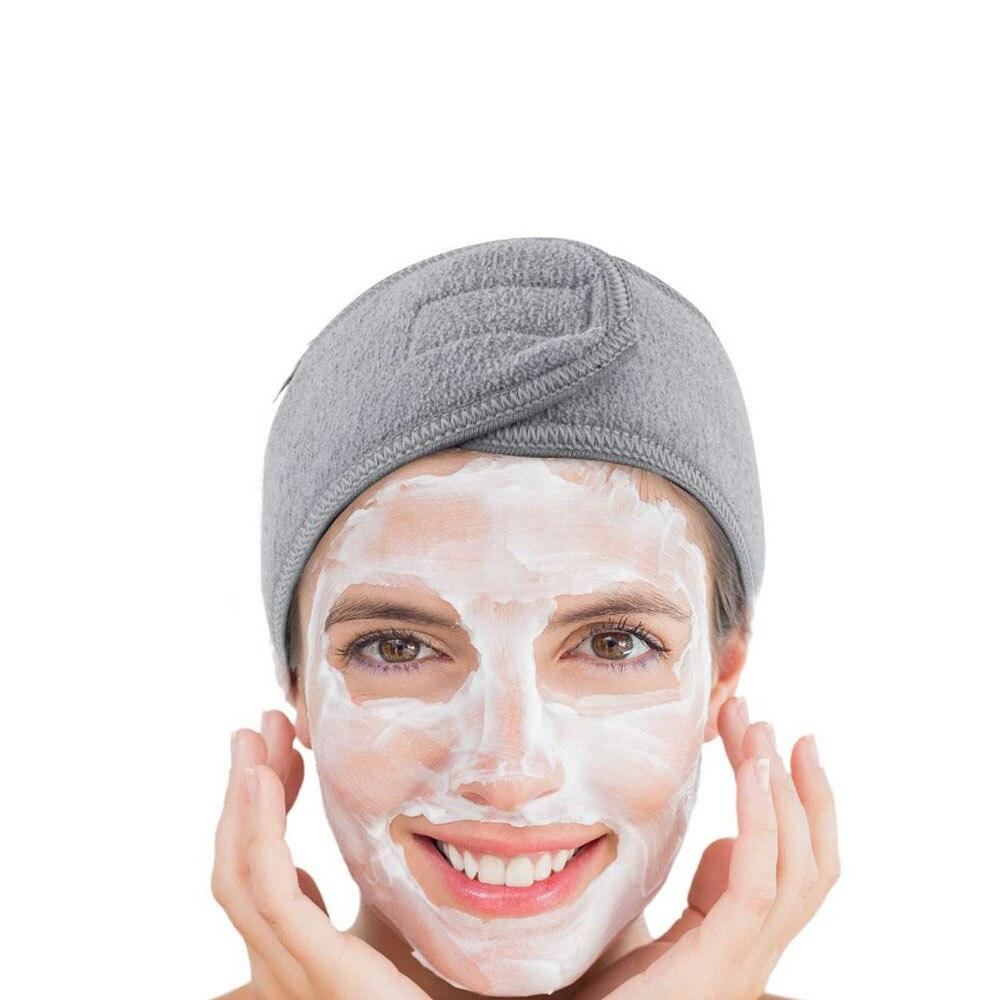 1 шт., мягкая женская повязка на голову для лица