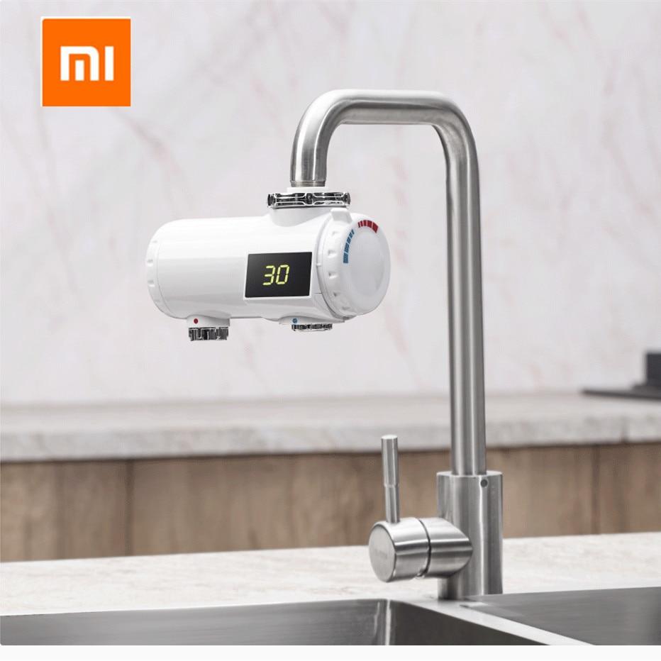 Xiaomi Xiaoda Instant Heating Faucet Kitchen Electric Water Heater 30-50 °C Temperature Cold Warm Adjustable Waterproof Faucet