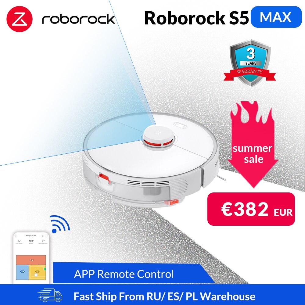 Roborock S5 Max z Polski za $404.48 / ~1598zł