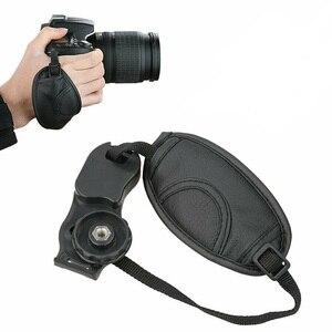 Image 5 - Poignée en polyuréthane 100% garantie nouvelle poignée de dragonne dappareil photo pour Canon EOS 5D Mark II 650D 550D 450D 600D 1100D 6D 7D 60D haute qualité
