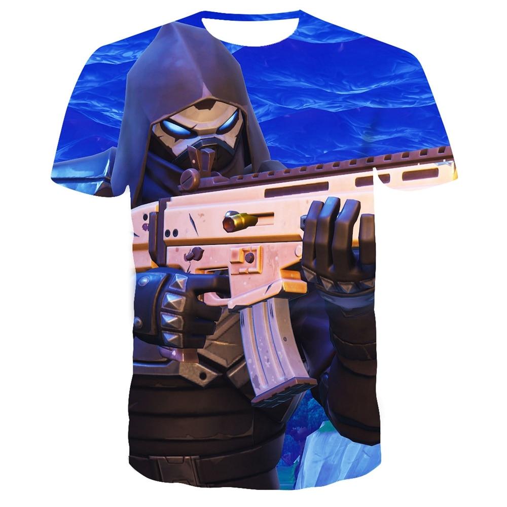 Children/Adult Battle Royale Gaming 3D Printed T Shirt Kids Summer Short T-shirt Boys Girls Teenager Fortniter TShirt Tops
