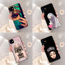 Luxury Woman In Hijab Face Muslim Islamic Gril Eyes Silicone Cover Phone Case For iPhone 11 11Pro X 5 5S 6 6S 7 8 Plus XR XS MAX muslim islamic gril eyes novelty fundas phone case for iphone 8 7 6 6s plus x xs max 5 5s se xr 11 11pro promax cover