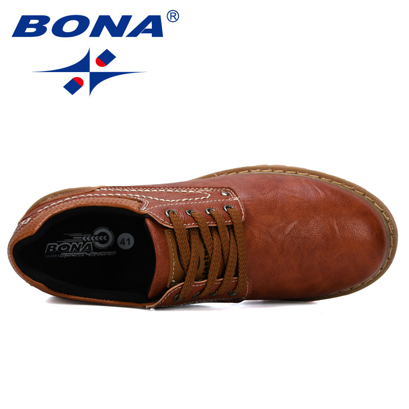 Image 5 - BONA 2019 New Designer Luxury Fashion Wedding Business Shoes Men Oxford Dress Shoes Men Formal Shoes Man Working Shoes Male-in Oxfords from Shoes
