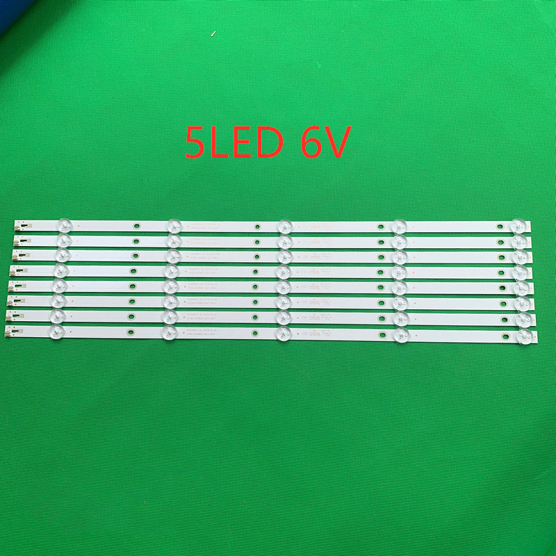 New 8 PCS 5LED Or 6LED LED Backlight Strip For 55PUF6092 K550WDC1 A2 4708-K550WD-A2113N01 471R1P79 4708-K55WDC-A1113N01 55U5080