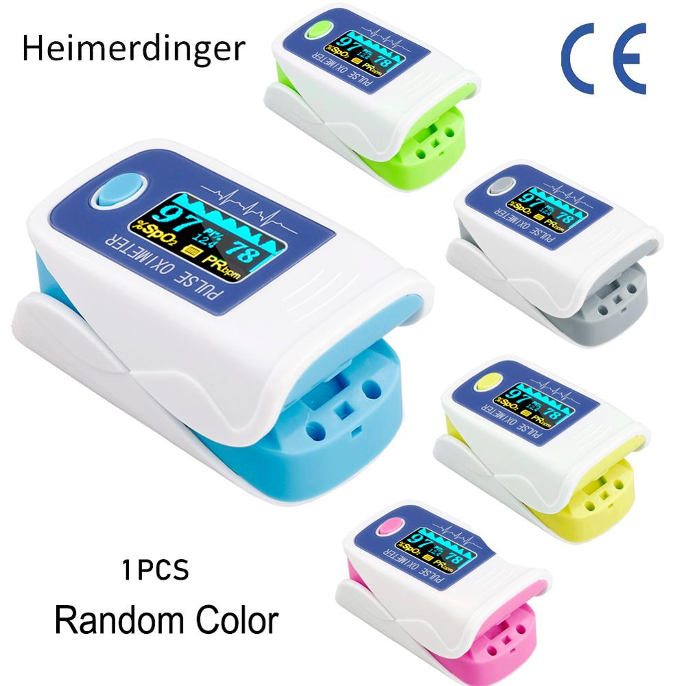 In Stock 1Pc Blood Oxygen Monitor Finger Pulse Oximeter Oxygen Saturation Monitor Fast Shipping Without Battery
