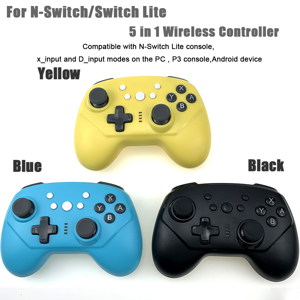 For Nintend Switch Pro Controller / Switch Lite Console Joystick Gamepad Bluetooth Wireless Pro Game Controller With 6-axis gyro