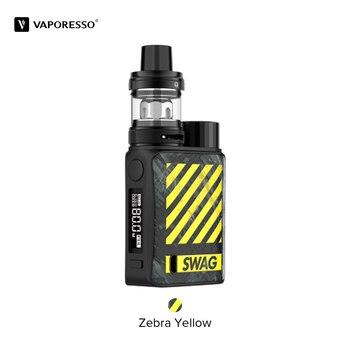 Vaporesso – Cigarette électronique Swag II, 80W, avec boîte TC, Mod, réservoir NRG PE de 3.5ml, GT4, tête de bobine de maille, VS Swag
