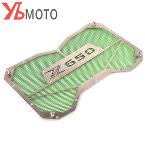 Image 2 - High Quality Motorbike radiator grille guard protection Water tank guard For Kawasaki Z650 Z 650 2017 2018 Accessories