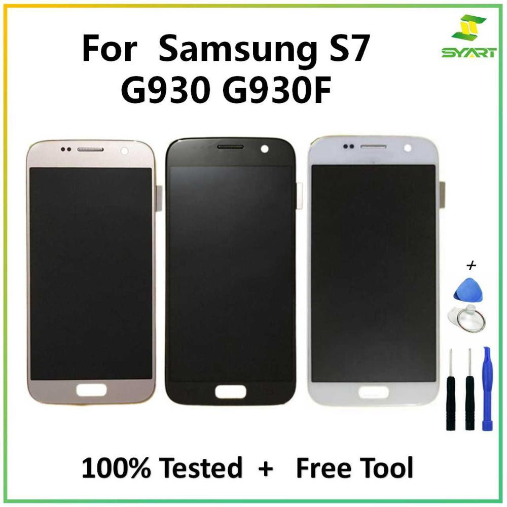 For <font><b>Samsung</b></font> <font><b>Galaxy</b></font> <font><b>S7</b></font> G930 <font><b>LCD</b></font> <font><b>Display</b></font> Touch Screen Digitizer Assembly For <font><b>Samsung</b></font> <font><b>Galaxy</b></font> <font><b>S7</b></font> G930 <font><b>G930F</b></font> G9300 SM-<font><b>G930F</b></font> <font><b>LCD</b></font> image
