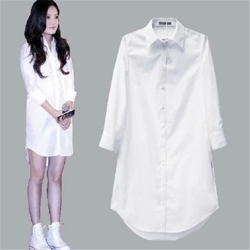 White Blouse Women's Blusas Mujer De Moda 2020 Plus Size Casual Vintage Blusa Women Tops Long Sleeve Shirt Ladies Camisas Mujer