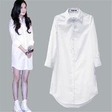 白ブラウス女性のblusas mujerデモーダ 2020 プラスサイズカジュアルヴィンテージblusa女性は長袖シャツ女性camisas mujer