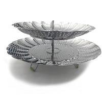 Vegetable Steamer Basket Stainless Steel Collapsible Steamer Basket for Instant Pot Accessories / Pressure Cooker|Kitchen Gadget Sets| |  -