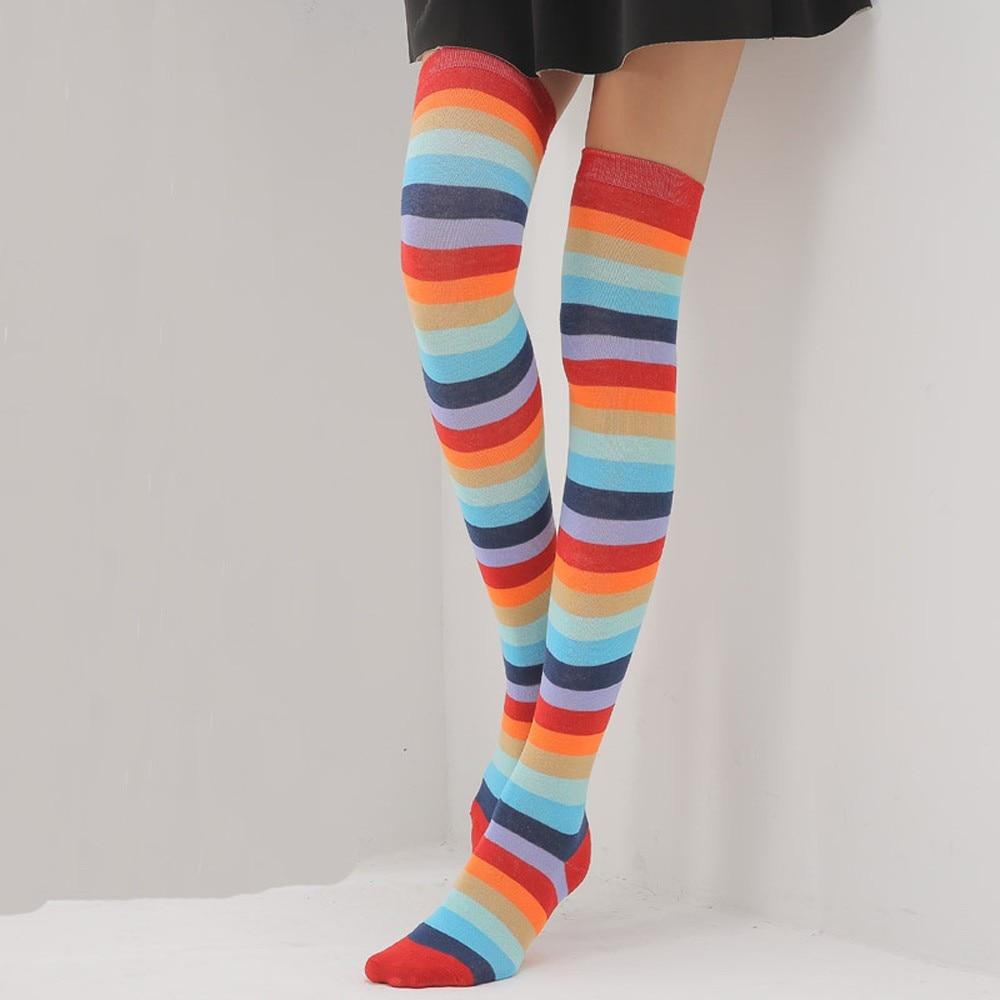 Cute Dinosaur Long Tight Thigh High Socks Over The Knee High Boot Stockings Leg Warmers