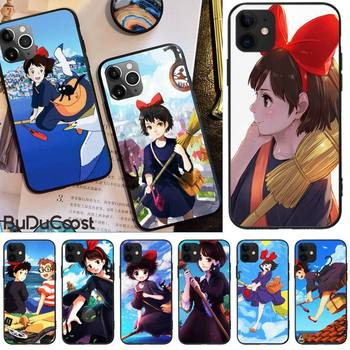 Jomy Kikis Delivery Service Hard Phone Case For iphone 12 pro max 11 pro XS MAX 8 7 6 6S Plus X 5S SE 2020 XR case image