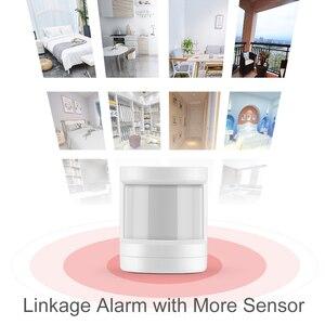 Image 5 - Tuya ZigBee Sensore PIR IFTTT Alimentato A Batteria WIFI Wireless Intelligente PIR Rivelatore di Movimento del Sensore di Allarme Domestico Sistema di ZigBee Sensore PIR