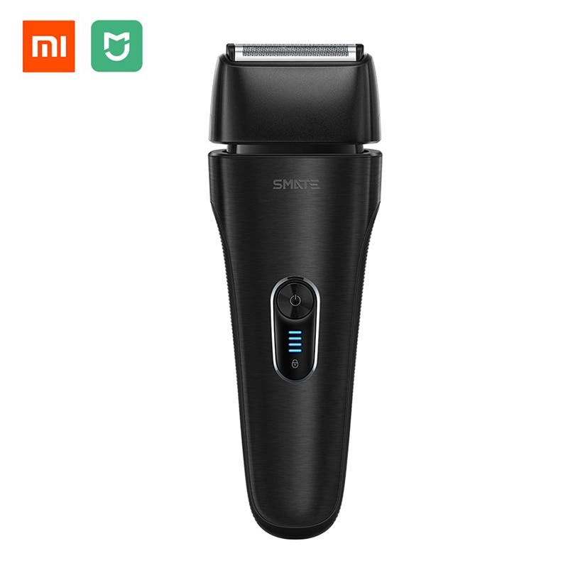 الأصلي Xiaomi SMATE الحلاقة الكهربائية 4 شفرة ماكينة حلاقة كهربائية 3 دقيقة تهمة سريع الجافة والرطبة-في ماكينات الحلاقة الكهربائية من الأجهزة المنزلية على  مجموعة 1