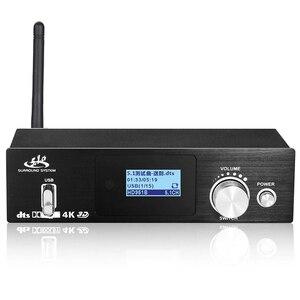 Image 1 - HD915 HDMI 5.1CH o Decoder Bluetooth 5.0 Reciever DAC DTS AC3 FLAC APE 4Kx2K HDMI to HDMI Extractor Converter SPDIF ARC(EU P