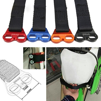 Motorcycle Rescue Traction Strap Off Road Dirt Bike Outdoor Emergency Pull Sling Belt For Kawasaki Suzuki Honda KTM otom universal motorcycle handlebar switch on off button for ktm honda kawasaki suzuki yamaha atv dirt bike accessories