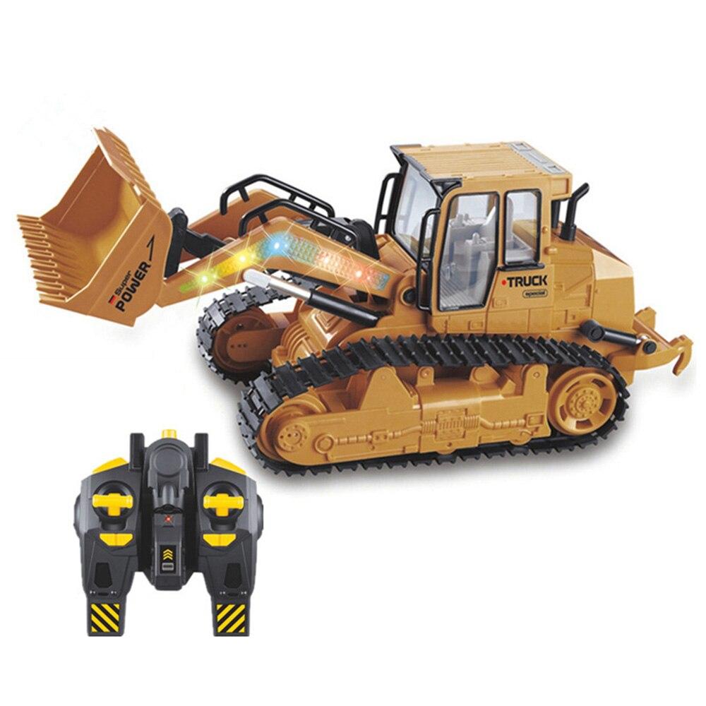 1:16 camion 2.4Ghz 5 canaux RC pelle jouet RC ingénierie voiture alliage et plastique pelle avec batterie pour enfants cadeau de noël