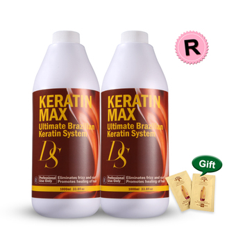Keratin hair treatment salon 12% formalin brazilian keratin hair treatment straighten&repair damaged hair make shiny&smooth hair недорого