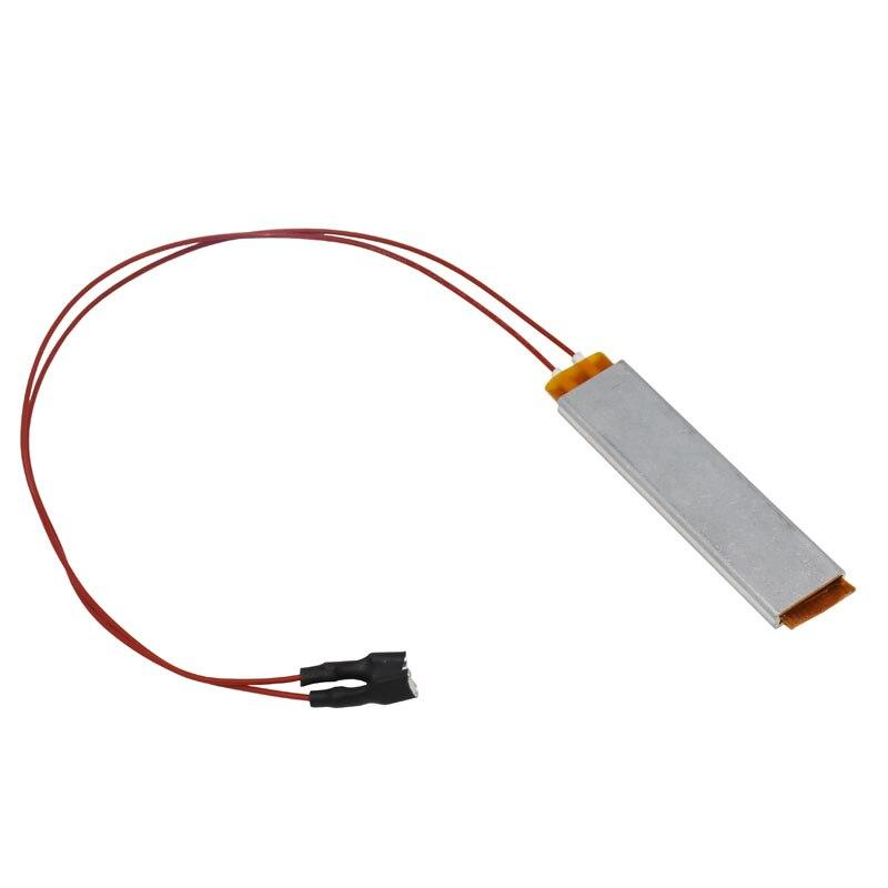 Incubadora de ar 220v/110v/12v, equipamento de incubadora de aquecimento isolado ptc de cerâmica ferramenta quente