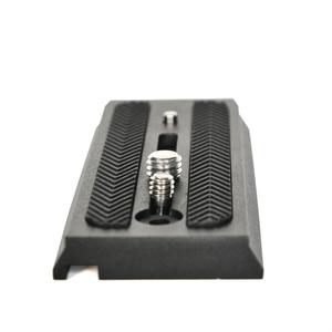 Image 5 - BEXIN Hızlı Yayın Plakası adaptörü montaj Sürgülü 501PL Hızlı Bağlantı Tabanı Manfrotto için 501 503 701 Q5 kamera tripodu Aksesuarları