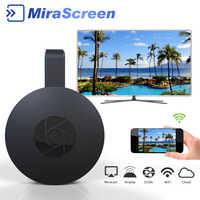 Vara de tevê de alta velocidade mirascreen g2a/l7 para android iphone série anycast elenco suporte hdmi miracast wifi hdtv display dongle