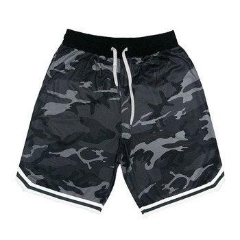 Summer New Camouflage Mens Sports Fitness Five-Point Pants Basketball Training Casual Shorts Outdoor Plus Size