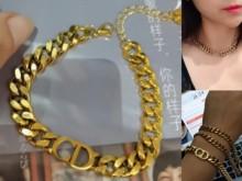 2021 fasion jewerlys pulseira de aço inoxidável pulseira de ouro cúbico para meninas