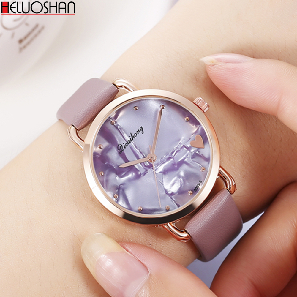 Women's Watches Fashion Ladies Watches For Women Bracelet Relogio Feminino Clock Gift Montre Femme Luxury Leather Quartz Watch