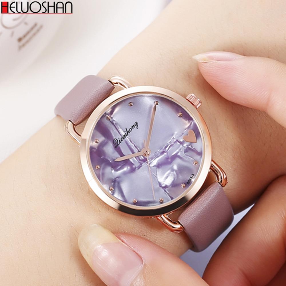 Women's Watches Fashion Ladies Watches For Women Bracelet Relogio Feminino Clock Gift Montre Femme Luxury Leather Quartz Watch