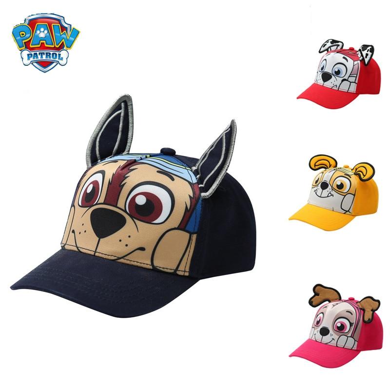 Paw Patrol toys dog Child Baseball Cap Hip Hop Baby cartoon dogs kids Sun Hat Boys Girls Caps snapback hatsKids Toy Gift