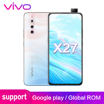 """vivo X27 Support Global ROM Google Play 48.0MP Mobile Phone 8GB 128GB 6.39"""" Full Screen Octa core 4G Rear 3 Cameras Cell phone"""