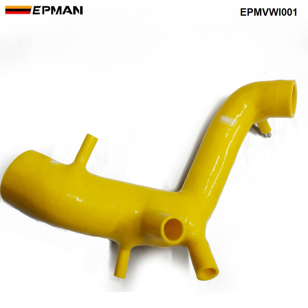 Силиконовый интеркулер Turbo Boost индукционный впускной шланг комплект для VW Golf MK4 1,8 T/Bora 1,8 T/Bettle 1,8 T (1 шт.) EPMVWI001