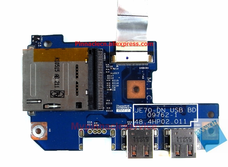 48.4HP02.011 JE70 DN USB BD USB Board For Acer Aspire  7741 7741G 7551