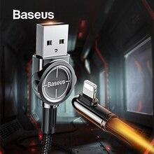 USB кабель Baseus для iPhone XR 11 Xs Pro Max X 7 8 Plus, a, USB кабель для быстрой зарядки, для STG, игровой, USB, линия передачи данных