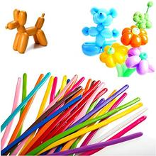 200Pcs/bag Latex Clowns Twisting Balloons Magic Assorted Color Long Wedding Birthday Party Decoration Ballons