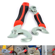 2 Pcs Adjustable Snap and Grip 9mm Up To 32mm Universal Wrench Multi-Function Universal Hand Tool Set Snap and Grip Wrench