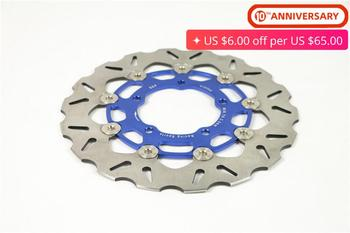 For Yamaha BWS X 125 Cygnus 125 BWS125 Cygnus125 Scooter Front Brake Disc Rotor Floating Brake Disc Stainless Steel Accessories