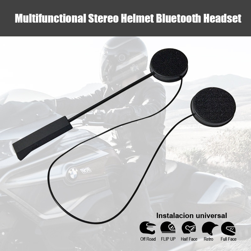 Bluetooth Anti-interference For Motorcycle Helmet Riding Hands Free Headphone Wireless Bluetooth Motorcycle Handsfree Kit