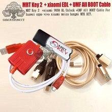 2020 original MRT SCHLÜSSEL 2 Dongle + für GPG xiao mi EDL kabel + UMF ALLE Boot kabel set (EINFACH SCHALT) & mi cro USB Zu Typ-C