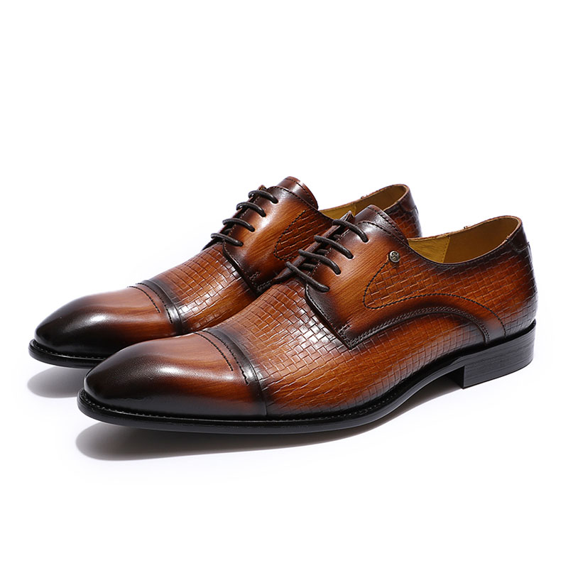 Men Oxfords Mens Leather Oxford Dress