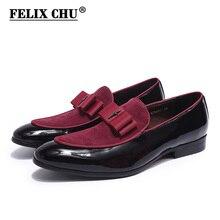 Lüks muhteşem erkek düğün loaferlar Patent deri süet ayakkabı erkek parti gece elbisesi rahat ayakkabılar erkekler için yaz ayakkabı