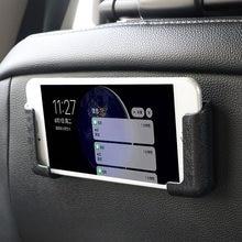 LEEPEE Ancho Ajustable accesorios de Interior de coche multifunción soporte de teléfono móvil para coche GPS soporte auto-adhesivo