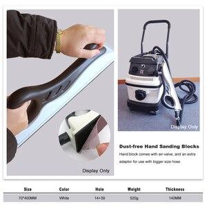 Ручной шлифовальный блок без пыли извлечение шлифовальный блок Полировальный Инструмент 70*400 мм
