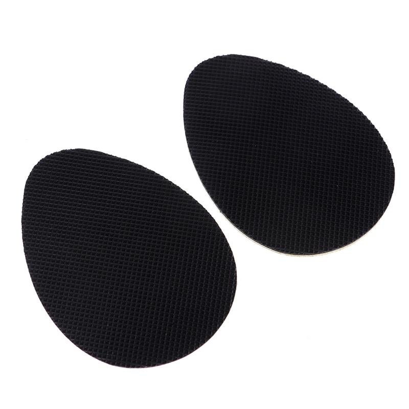2pcs/set Useful Glue On Shoe Sole Heel Tips Anti Slip Rubber Shoe Protectors Repair