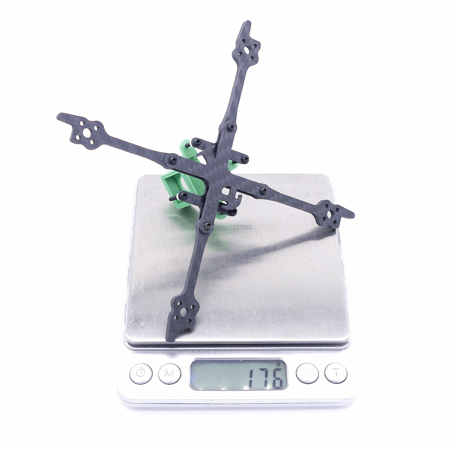 Image 5 - FPV Fonster Kpro 2.5inch 125 125mm X type Toothpick 3mm Arm thickness FPV Tiny Frame for FPV Racing Drone kitParts & Accessories   -