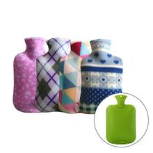 2000ml Hot Water Bag Cover Large Fleece Cloth Cover Hot Water Bottles Explosion Warm Hand for Proof Rubber Hot Water Bottle
