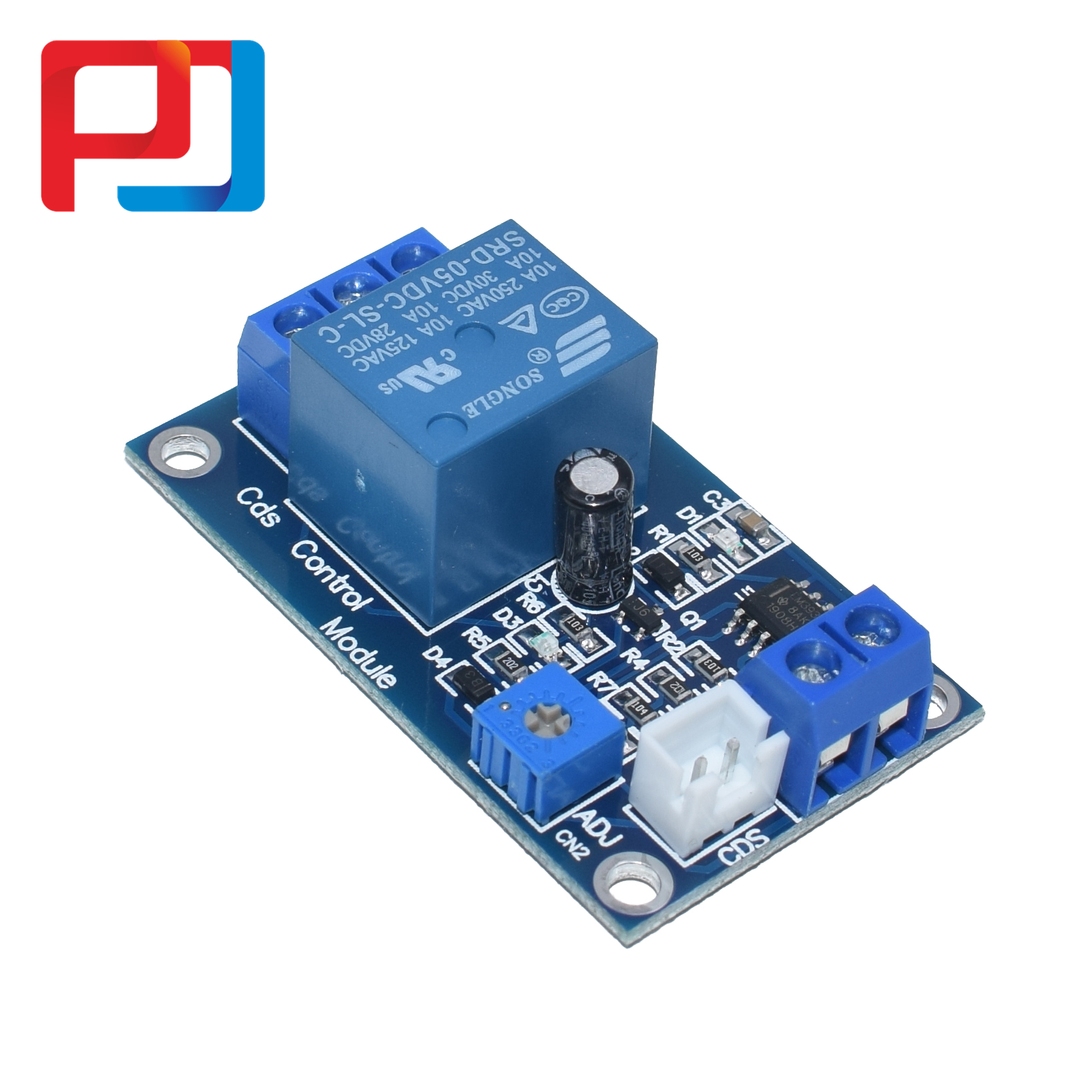 Image 5 - XH M131 DC 5V/12V Light Control Switch Photoresistor Relay Module Detection Sensor 10A brightness Automatic Control Module 10PCSConnectors   -